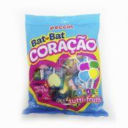 Pirulito Bat Bat Coração Tutti-Frutti Colors 500g Peccin