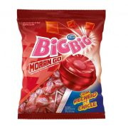 Pirulito Big Big Morango Recheio de Chicle 600g Arcor
