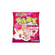 Pirulito Flopito Baby Coração Tutti-Frutti 200g Florestal
