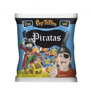 Pirulito Pop Tatoo Piratas Morango 400g Boavistense