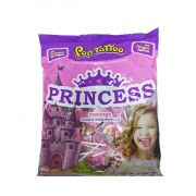 Pirulito Pop Tatoo Princess Morango 400g Boavistense