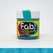 Pó Para Decoração Azul Tiffany 3g Fab