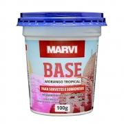 Pó para Sorvete Morango Tropical 100g Marvi