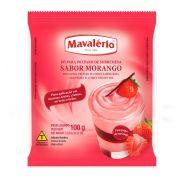 Pó Preparo de Sobremesa  Morango Mavalério 100g