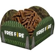 Porta Forminha Free Fire c/40 unid Festcolor
