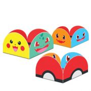 Porta Forminha Pocket Monsters C 50 unid Junco