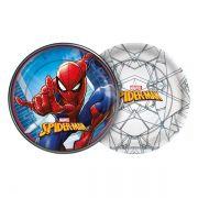 Prato de Papel Spider Man 18cm C 08 unid Redondo Regina