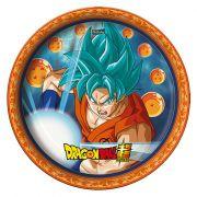 Prato Dragon Ball C 08 unid Redondo Festcolor