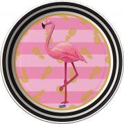 Prato Flamingo C 08 unid Redondo Festcolor