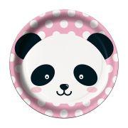 Prato Panda C 08 unid Redondo Festcolor