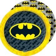 Prato Redondo Batman Geek c/8 unid - Festcolor