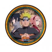 Prato Redondo Naruto c/8 unid Festcolor