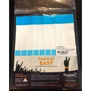 Pulseira Easy Azul Claro C 50 unid Popper