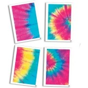 Quadros Decorativos c/4 unid Tie Dye - Festcolor