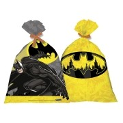 Sacola Plástica Batman Geek c/8 unid - Festcolor