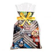 Sacola Surpresa Avengers 14cm x 27cm C 08 unid Regina