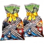Sacola Surpresa Avengers 14cmx27cm c/12 unid Regina