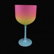 Taça Gin Tricolor 580ml Tiffany/Amarelo/Rosa