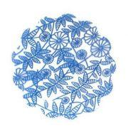 Tapetinho Azul Escuro N.09 C/100 unid. Vipel