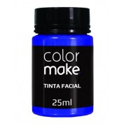 Tinta Facial Azul 25ml Colormake