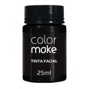 Tinta Facial Preta 25ml Colormake
