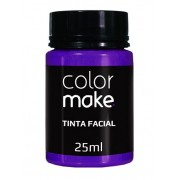 Tinta Facial Roxo 25ml Colormake