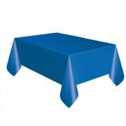 Toalha Plástica Azul 137cm x 274cm Silver Festas