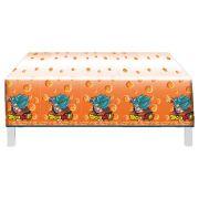 Toalha Plástica Dragon Ball 1,20m x 1,80m C 1 unid Festcolor