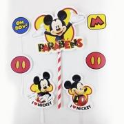 Topo de Bolo Impresso Mickey Piffer