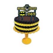 Topper para Bolo Batman Geek c/3 unid - Festcolor