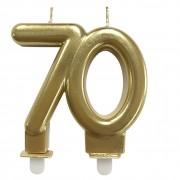 Vela Bodas Ouro 70 Festivela Mundo Bizarro