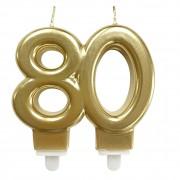 Vela Bodas Ouro 80 Festivela Mundo Bizarro