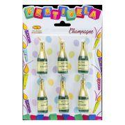 Vela Champagne 6 unid Festivela