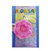 Vela Flor Grande Rosa Provelaf