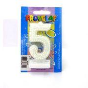 Vela Pérola 5 Branca Provelaf