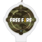 Vela Plana Free Fire Festcolor