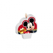 Vela Plana Mickey  C 01 unid Regina