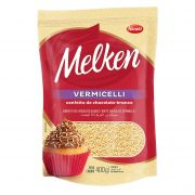 Vermicelli Melken Chocolate Branco 400g