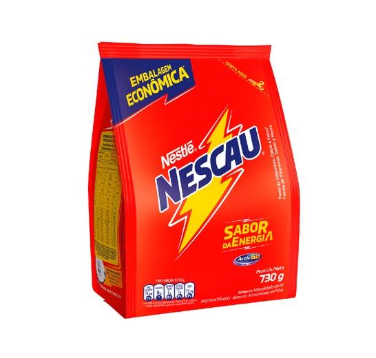 Achocolatado em Pó Nescau Nestlé 730g