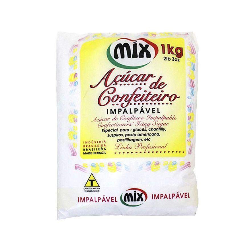 Açúcar Confeiteiro Mix 1Kg