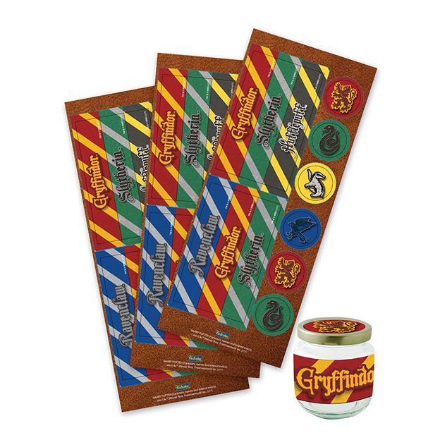 Adesivo para Lembrancinha Harry Potter C 36 unid Festcolor