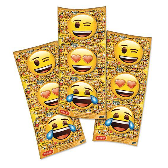 Adesivo Retangular Emoji C 12 unid Festcolor