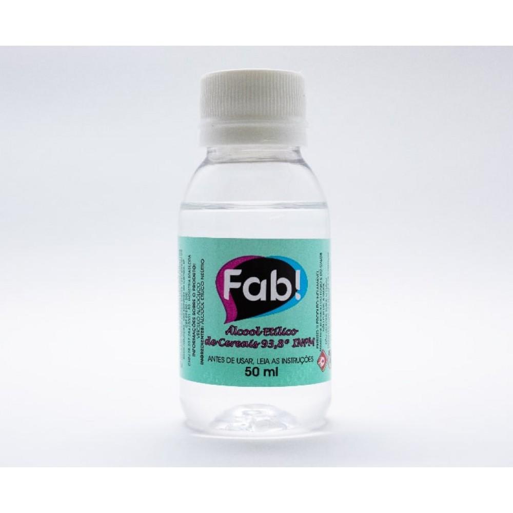 Álcool Etílico de Cereais 50 ml Fab