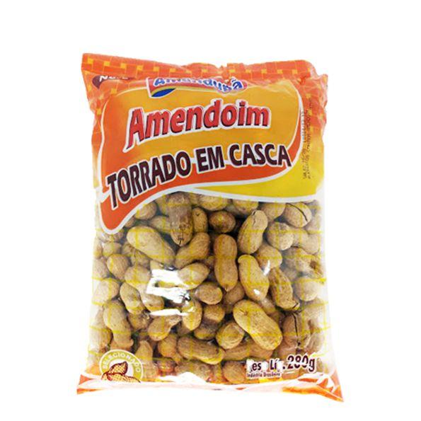 Amendoim Torrado Em Casca 280g Amendupã