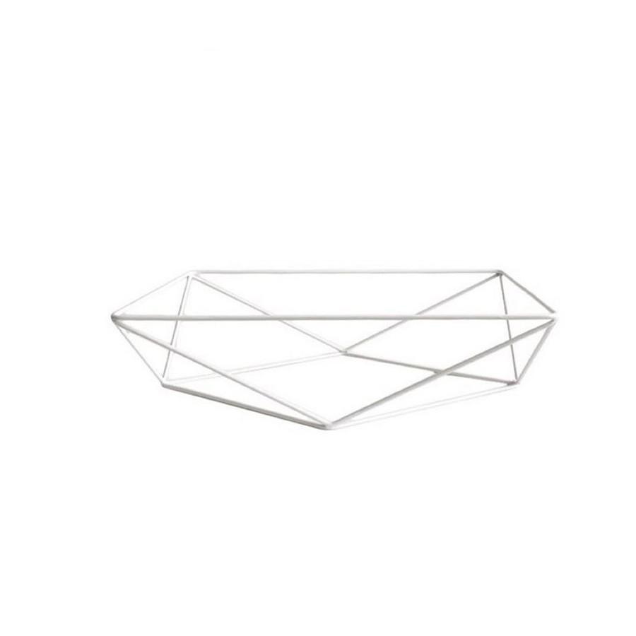 Aramado Triangular Branco Só Boleiras