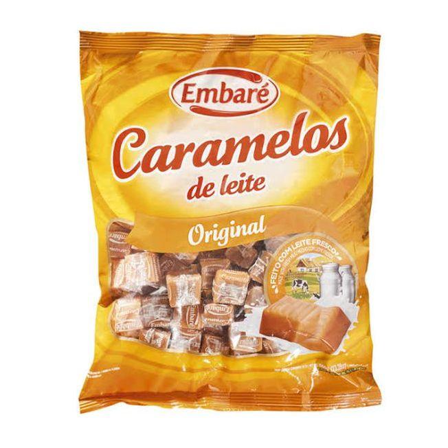 Bala Caramelo 660g Leite Embaré