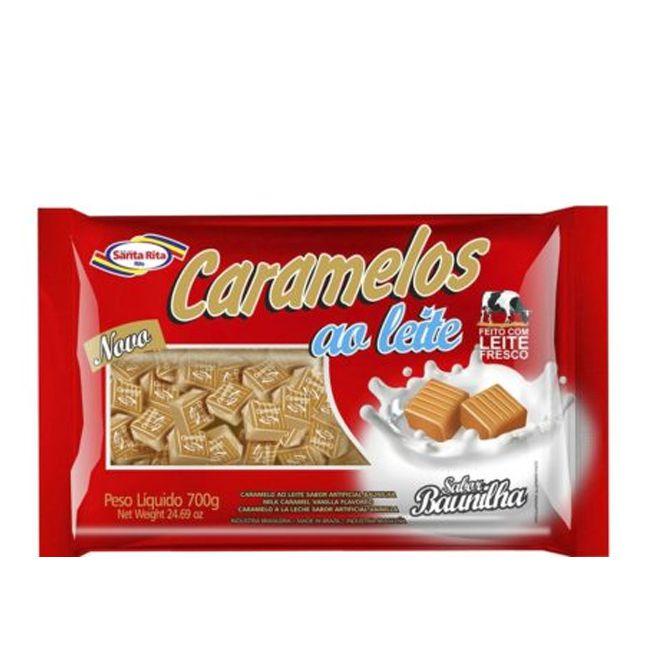 Bala Caramelo 700g Leite Santa Rita