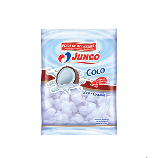 Bala Delícia Coco 400g Junco