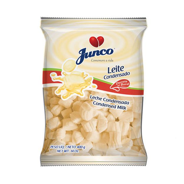 Bala Delícia Leite Condensado 400g Junco