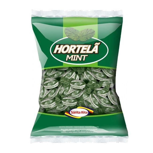 Bala Dura 600g Hortelã Mint Santa Rita